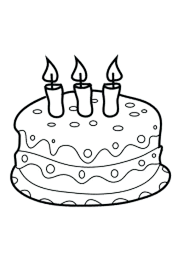 birthday cake coloring pictures candle birthday cake coloring pages happy birthday cake coloring pictures
