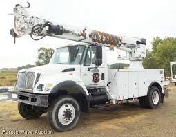 2005 International 7300 Digger Derrick Truck   Item L1707   ...