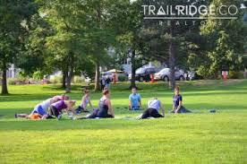 Outdoor Yoga At Chautauqua Park