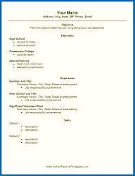 100 Example Of High School Resume 012 Late Job School Writing Students