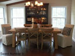 Pottery Barn Dining Room Sets By Dallas Media Tables Is Also A ... Kitchen Breathtaking Brown Wood Ding Table Thick Planked Pottery Barn Living Room Ideas Surripuinet Room Dinette Space Tables Rooms Crate And Barrel Delightful Chair Slipcovers Alliancemvcom Lighting Planner For Minimalist Contemporary Houses Decorating Home Design Wonderfull Pottery Barn Table Ding Sets House Design