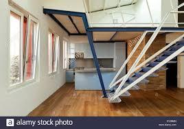 100 Mezzanine Design Modern Designer Apartment With Mezzanine Stock Photo
