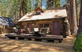 Lake Tahoe log cabin