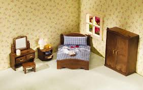 calico critters master bedroom set at growing tree toys
