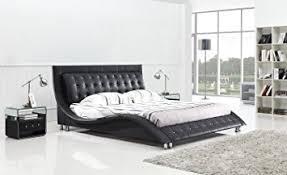Amazon Dublin Contemporary Platform Bed King Size Black