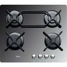 table de cuisson gaz 4 foyers whirlpool akt4000mr whirlpool