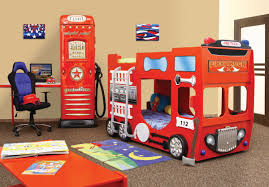 100 Fire Truck Loft Bed Plastiko Toddler Bunk Wayfairca