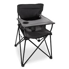 Space Saver High Chair Walmart by The Packable High Chair Hammacher Schlemmer