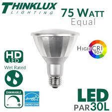 par30l led bulb high cri 75w equal 25 degree outdoor