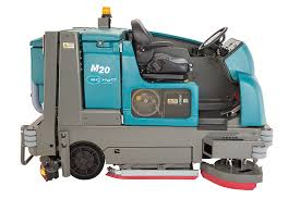 Tennant Floor Scrubbers 5680 by M20 Integrated Ride On Scrubber Sweeper Tennant Company