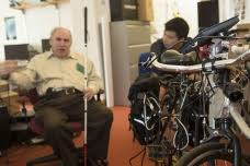 Leveraged Freedom Chair Patent by Meche Spinoff Launches All Terrain Wheelchair In U S Mit News