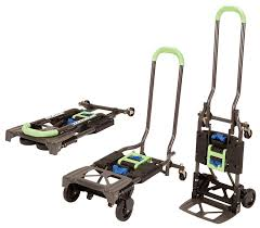 100 Best Hand Truck Cosco Shifter 300Pound Capacity MultiPosition Heavy Duty Folding