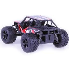 100 Purple Monster Truck 120 Scale RC OffRoad Vehicle 24G Remote Control