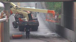 100 The Truck Stop Decatur Il Trapped Semitruck Removed From Underpass Top Stories Wandtvcom