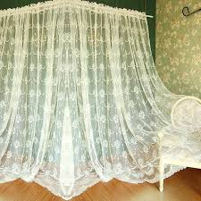 Chiffon Curtains Online India by White Lace Curtains U2013 Teawing Co