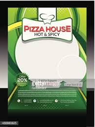 Pizza Store Flyer Design