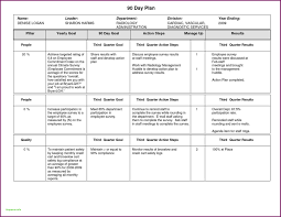 90 Day Business Plan Template For Interview First Days Awesome Of 30 60