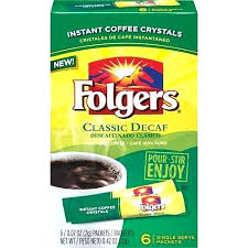 Folgers Coffee Singles Decaf Classic Roast Decaffeinated Review