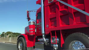 100 Tri Axle Dump Trucks Peterbilt 378 Truck YouTube