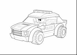 Amazing Lego Police Car Coloring Pages To Print With And