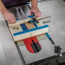 rockler table saw small parts sled rockler woodworking and hardware