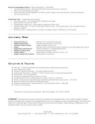 Resume Objective Examples Music Industry With Bunch Ideas Of Film Director Simple Unusual Design Creative To Prepare