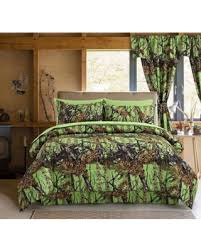 Camouflage Bedding Queen by Fall Savings On Regal Comfort The Woods Bio Hazard Green