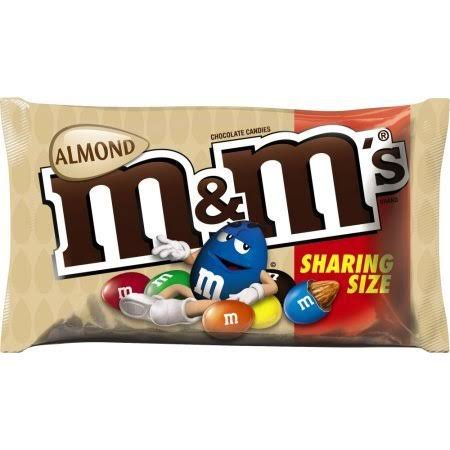 M&M's Chocolate Candy - Almond