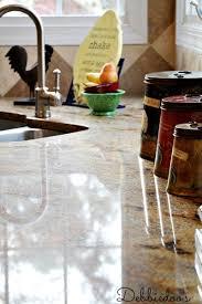 How to clean granite countertops naturally Debbiedoos