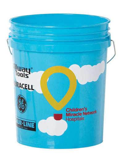 Leaktite 05GLCMN CMN Plastic Pail 5 Gallon (Pack of 10)