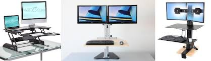 Kangaroo Standing Desk Imac by Best Standing Desks Varidesk Ergotron Kangaroo Fityourspace