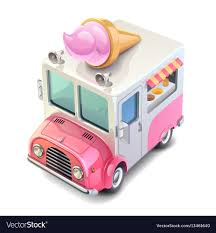 100 Toy Ice Cream Truck Cream Truck Royalty Free Vector Image VectorStock