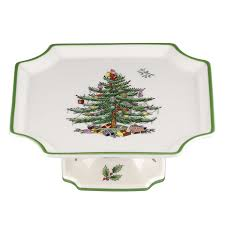 Spode Christmas Tree Mug With Peppermint Handles by Christmas Trees Cake Plates And Cake Pedestals Christmas Wikii