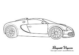 Cars Coloring Page Bugatti Veyron2