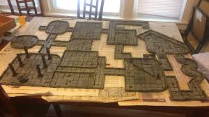 3d Printed Dungeon Tiles by The Dungeon Tile Project Jeremiah Tolbert