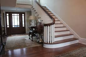 Ideas Of Staircase And Handrail Repair Refinishing Replacement In ... Chic On A Shoestring Decorating How To Stain Stair Railings And Best 25 Refinish Staircase Ideas Pinterest Stairs Wrought Iron Stair Railing Iron Stpaint An Oak Banister The Shortcut Methodno Howtos Diy Rail Refishing Youtube Photo Gallery Cabinets Boise My Refinished Staircase A Nesters Nest Painted Railings By Chameleon Pating Slc Ut Railing Concept Ideas 16834 Of Barrier Basic Gate About
