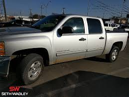 100 Used Chevy Truck For Sale 2013 Silverado 1500 LT RWD In Ada OK