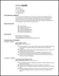 Resume Gallery Truck Driver Release