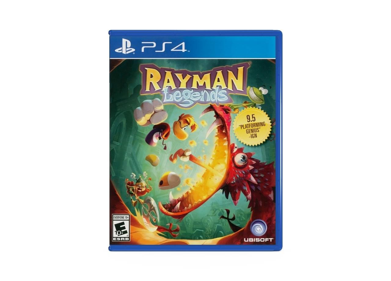 Playstation PS4 Game: Rayman Legends