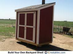 small lean to shed plans shed plans pinterest woodworking
