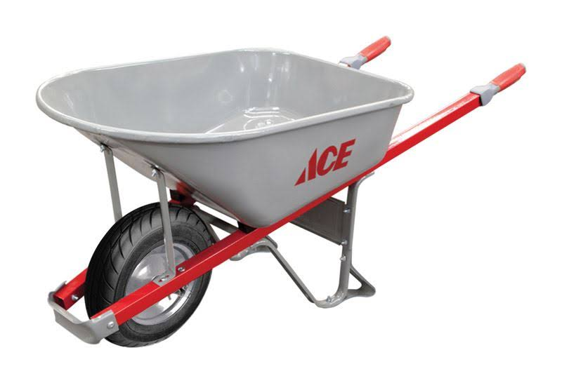 Ace Steel Wheelbarrow