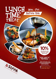 SUYA Lunch Time Student Offers