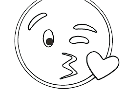 Funny Faces Coloring Pages Emotion Unicorn Emoji Page