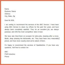 reference letter for apartment