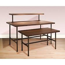 Econoco PSNTSSET Pipeline Small Nesting Table With Top D TablesRetail FixturesRetail