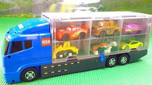 100 Disney Cars Mack Truck Hauler Pixar Carry CaseExclusive Pixar