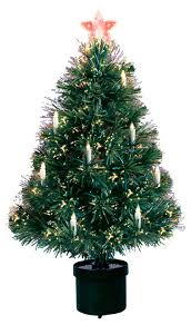 Fiber Optic Christmas Trees On Sale by Fiber Optic Tree With Candles 125 Tips 3 U0027 Traditional