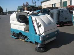 refurbished used floor scrubbers sweepers floor cleaning