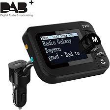 in car dab dab digital radio fm adapter 2 3 lcd co