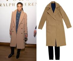 celebrity trends winter coats and accessories